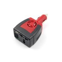car inverter 12v USB 5v 0.5a อะแดปเตอร์แปลงไฟรถยนต์ให้สามารถใช้ปลั้กไฟได้